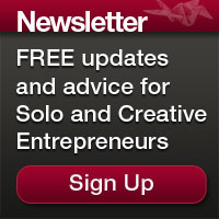 Newsletter Signup For Solo And Creative Entrepreneurs