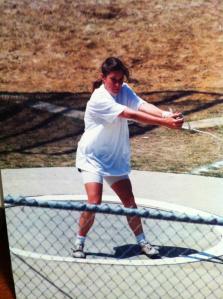 Cindy Cooper - hammer thrower