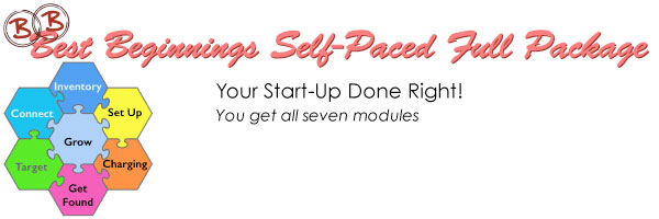 Best Beginnings Self-Paced Full Package - Your Start-up done right! You get all 7 modules
