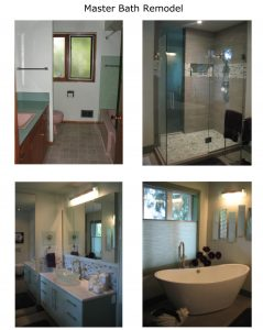 Master Bath Remodel by Anne Hudson The Sourceress